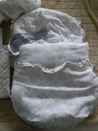Saco cuco silla bebe