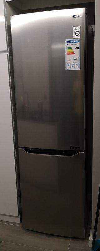 Frigorífico LG GBB59PZRZS 190cm No Frost A++