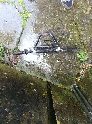 manillar pit bike