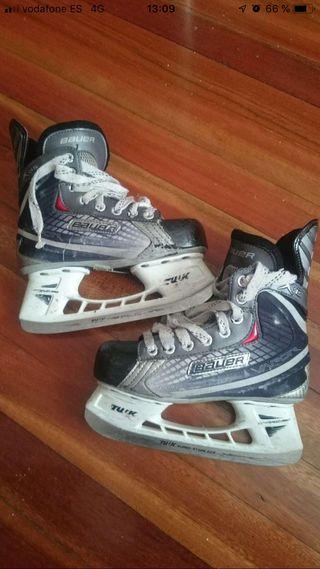 Patines hockey hielo