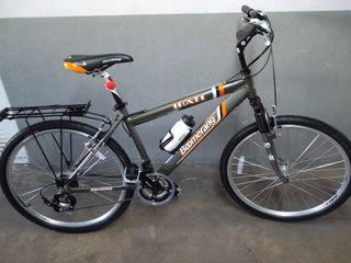 Bicicleta boomerang aluminio suspensión nueva