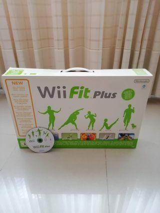 Wii fit plus con juego y tabla