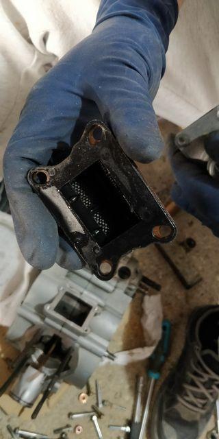 Caja de laminas de fibra de carbono Malossi