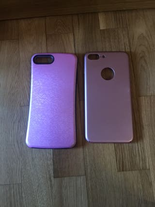 2 fundas iphone 7 plus