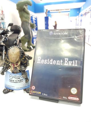 RESIDENT EVIL GAME CUBE IMPECABLE