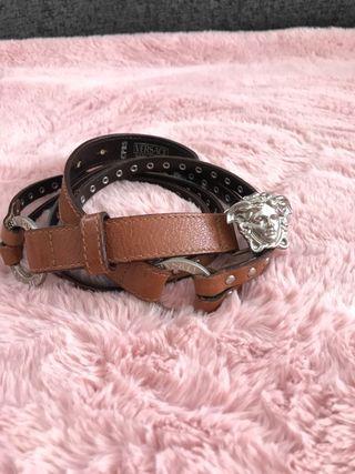 Cinturon Versace piel muy buen estado