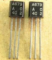 Transistor PNP A673
