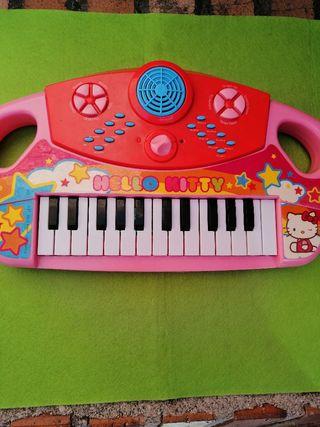 Piano musical Hello Kittie