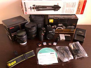 Nikon D3300 + Sigma 17-50mm F2.8