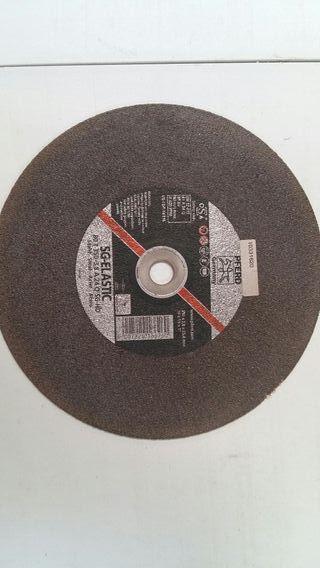 discos corte metal 350mm 08 unidades