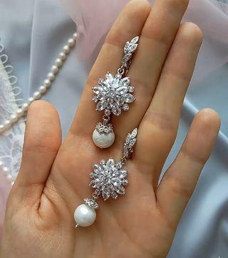 Preciosos pendientes de Cristal Swarovski
