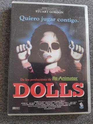DOLLS. muñecas .Stuart gordon.dvd REBAJADA!!!!