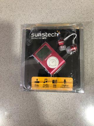Reproductor MP3 Sunstech 8GB radio FM