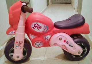moto- bici niña sin pedales, urge