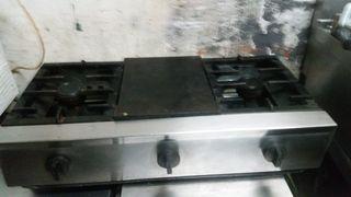 cocina industrial a gas