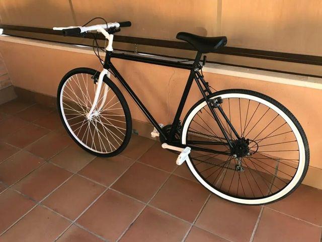 Bicicleta fixie/ hibrida