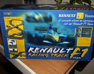 SCALEXTRIC Renault Racing Track F1 Team