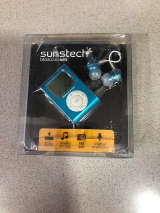Reproductor MP3 de 8GB con radio FM