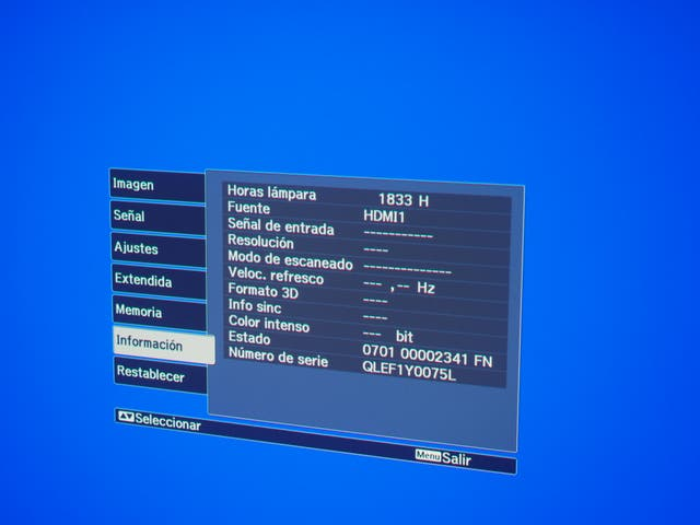 Proyector Epson TW9000 LPE