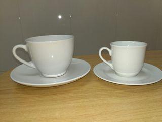 Juego tazas café y té