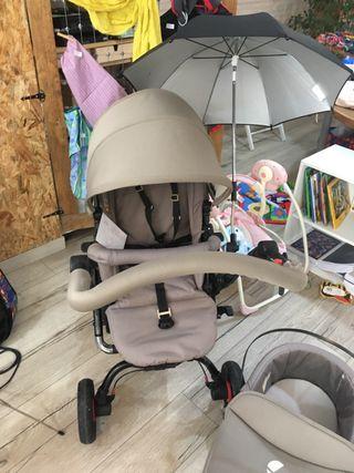 Carrito bebé de Jané silla+capazo+ grupo 0