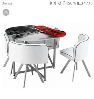 Conjunto mesa cocina conforama