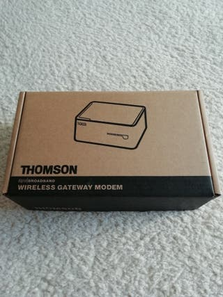 Wireless Gateway Modem Thomson