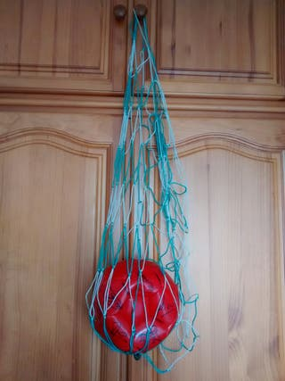red para llevar/guardar balones