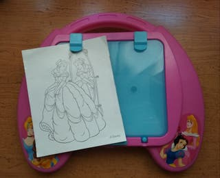 Pizarra Luminosa para calcar. Princesas Disney