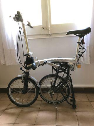 Bicicleta plegable Raleigh, ALUMINIO