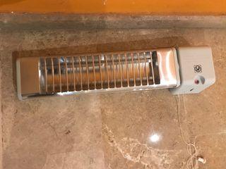 Calefactor eléctrico baño