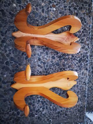 Colgador madera
