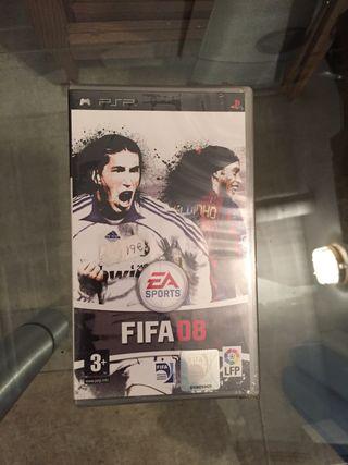 Juego PSP Fifa 08