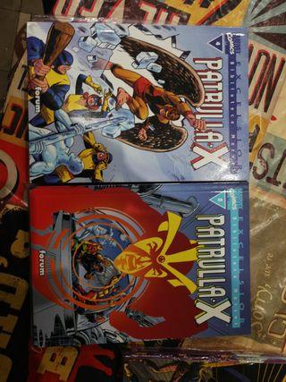 Biblioteca Marvel Patrulla-X 4 y 8. cómics forum.