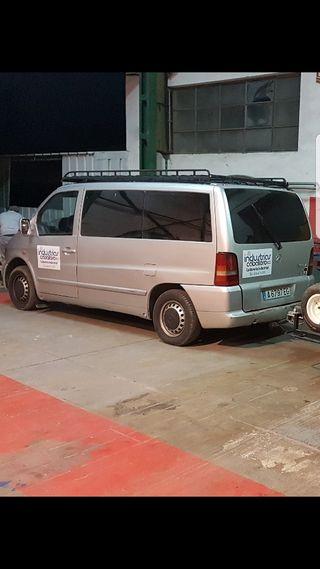 Mercedes-Benz Vito 2001 acepto cambio por furgoneta o camion con caja abierta