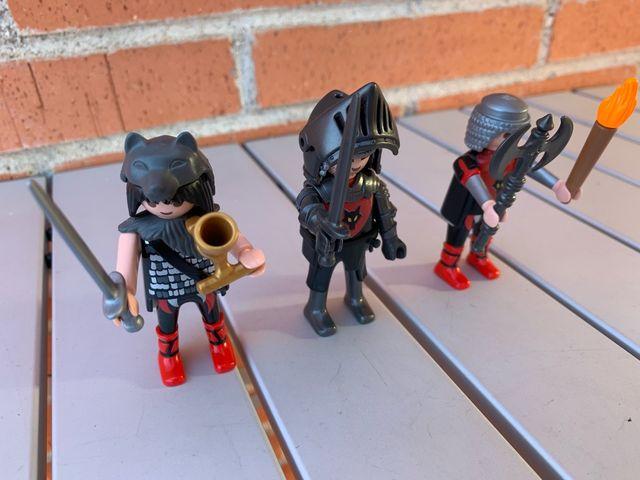 Playmobil tropa de soldados del lobo