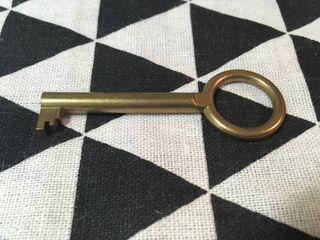 Antigua llave de puerta armario