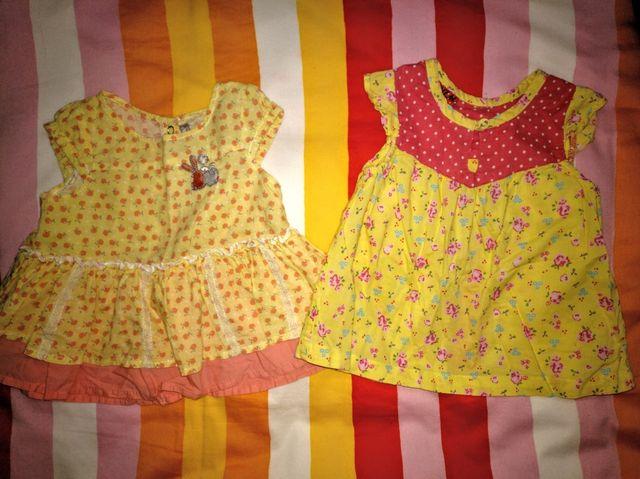 d4bd872f1 Vestidos niña bebé 3-6 meses. Ropa gemelas. de segunda mano por 4 ...