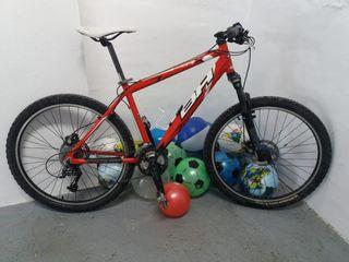 Cambio por bicicleta estática