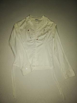 camisa entallada pinkie