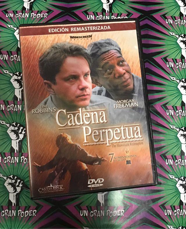 CADENA PERPETUA (DVD) TIM ROBBINS