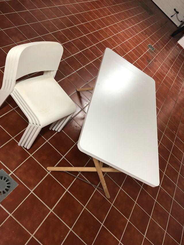 Set cocina ikea - mesa y 4 sillas de segunda mano por 115 € en ...
