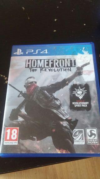 Videojuego ps4. homefront. the revolution