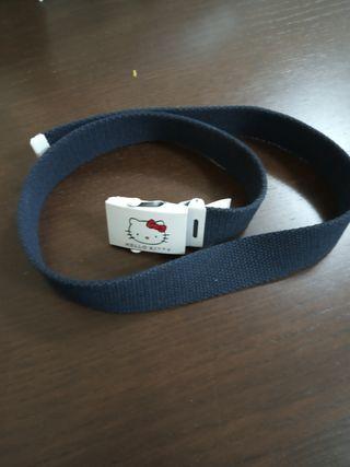 Cinturón niña Hello Kitty original 3€