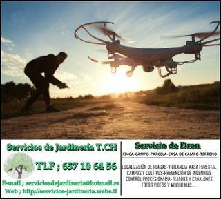 Trabajos con dron \ drone
