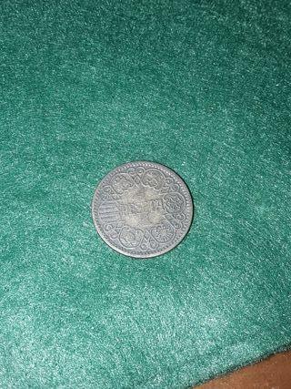 moneda 1 peseta año 1944