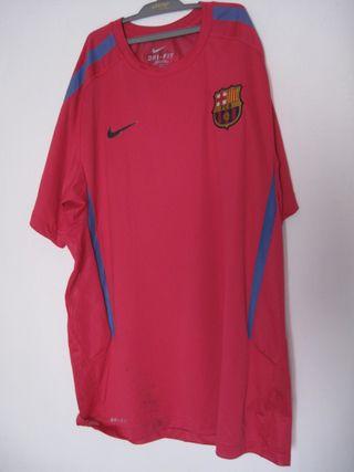 camiseta rosa fc barcelona fútbol barça talla L