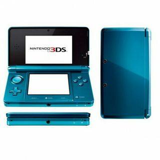 la Nintendo 3ds vert bleu