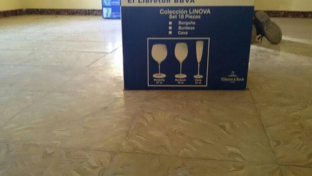 Colleccion de copas incluyen 18 piezas