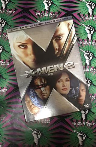 X-MEN 2. X2 (DVD) EDICIÓN COLECCIONISTA 2 DISCOS